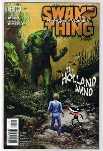 SWAMP THING #19, NM+, Vertigo, Holland Mind, 2004, more in store