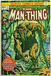 MAN-THING#1 VF 1974 MARVEL BRONZE AGE COMICS
