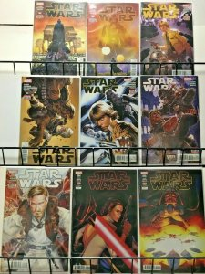 STAR WARS -  Lot of 29 Comics - Very Fine Issues between #2 - #75 (2015-2020)