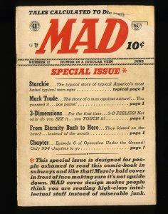 Mad #12 Fair 1.0