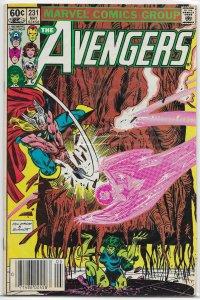 Avengers   vol. 1   #231 VG