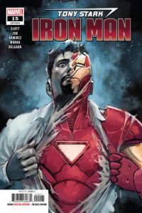 Tony Stark: Iron Man #15, NM (Stock photo)