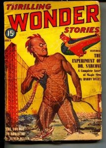 Thrilling Wonder Stories-Pulp-7/1940-Helen Weinbaum-Harry Bates