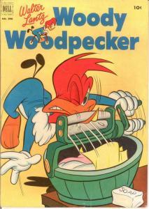 WOODY WOODPECKER F.C. 390 VG-F May 1952 COMICS BOOK