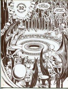 Burroughs Bulletin #32 1973-ERB-Tarzan-John Carter-Russ Manning art-VF+