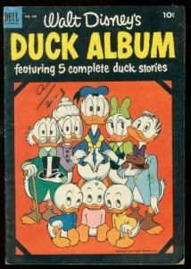 DUCK ALBUM-FOUR COLOR #450 1953-DELL-DONALD-BARKS ART VG