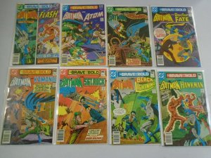 Brave and the Bold lot 42 diff. from #151-199 avg 6.0 FN (1979-83 1st Series)