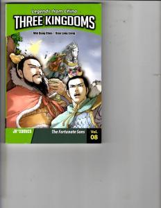 Legends from China Three Kingdoms Vol. 8 JR Graphic Novel TPB SC Chen Liang J139