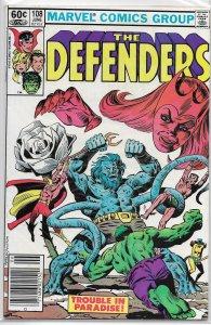 Defenders  vol. 1   #108 VG