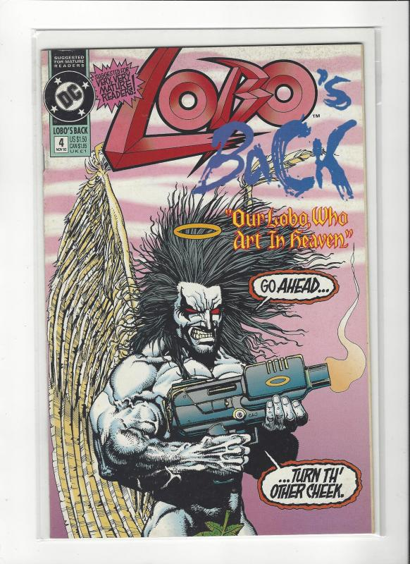 LOBO'S BACK #1-4 SET (NM) SIMON BISLEY DC COMICS