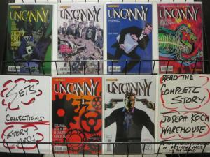 UNCANNY (2013 DYNAMITE) 1-6  Diggle, Campbell, Panosian