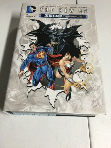 The New 52 Zero Omnibus Oversized HC Hardcover DC Comics