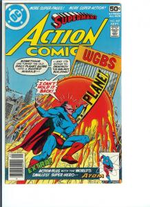 Action Comics #487, - Bronze Age - Sept. 1978 (FN)