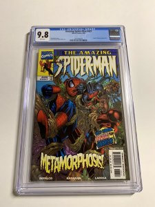 Amazing Spider-man 437 Cgc 9.8 White Pages Marvel 023