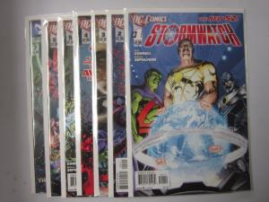 Stormwatch (2011 DC) #1-7 - VF or Better - 2011