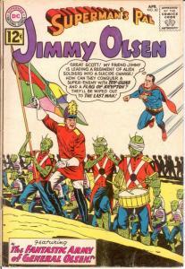 JIMMY OLSEN 60 G-VG April 1962 COMICS BOOK