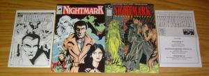 Nightmark Collector's Pack #1 VF/NM signed and numbered - limited ashcan - rare
