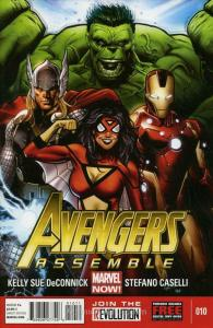 Avengers Assemble (4th Series) #10 VF/NM; Marvel | save on shipping - details in
