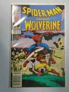 Marvel 25th Anniversary Spider-Man versus Wolverine #1 Newsstand 5.0 (1987)