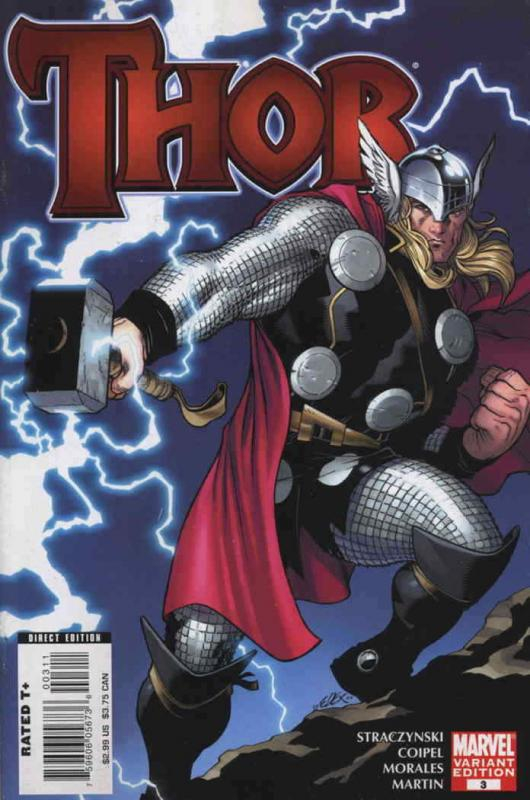 Thor (Vol. 3) #3A VF/NM; Marvel | combined shipping available - details inside