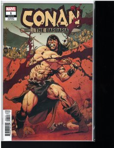 Conan the Barbarian #1 (Marvel, 2019) NM - Mahmud Asrar Party Cover