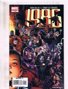 Lot of 6 1985 Marvel Comic Books #1 2 3 4 5 6 KS4