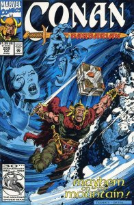 Conan the Barbarian #259 VF/NM; Marvel | save on shipping - details inside