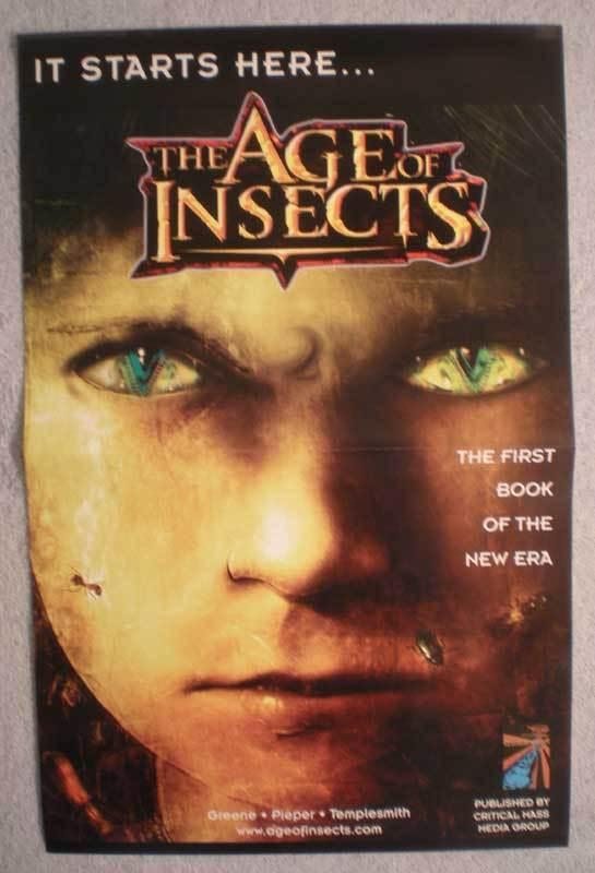 AGE OF INSECTS Promo poster, 11x17, 2007, Unused, more in our store