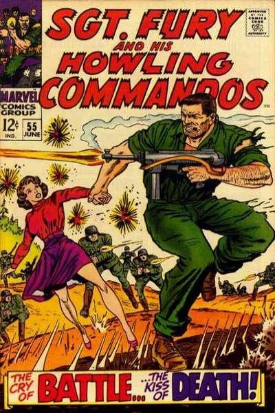Sgt. Fury #55, VF- (Stock photo)