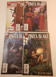 Anita Blake The Laughing Corpse Book One  #1-5 Complete Set High Grade NM Marvel