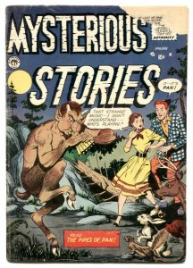 Mysterious Stories #7 1956- Rare Silver Age horror G/VG