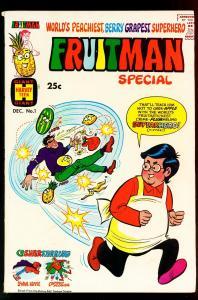 Fruitman Special #1 1969- Harvey Giant- Sooper Hippy- VG+