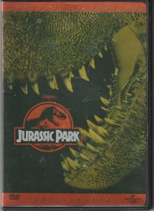 Jurassic Park DVD   Dinosaurs Are Back !