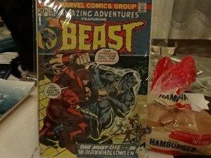 Amazing adventures 16 The Beast
