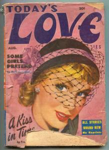 Today's Love Pulp August 1951- Some Girls Pretend G