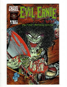 Lot Of 6 Comics Evil Ernie # 1 2 3 4 5 + The Pro Graphic Novel Book Image HY5
