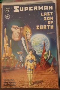 SUPERMAN: LAST SON OF EARTH #1  NM/MT