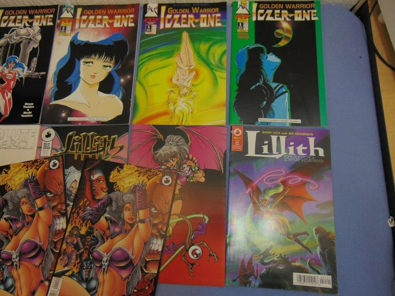 13 AP Antarctic Press English Manga Comic Books Iczer-One Hitomi 2 Lillith MORE