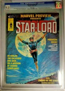 Marvel Preview #4~ 1976~ CGC 9.2 (NM-) 1st App. of Star-Lord & Sword in the Star