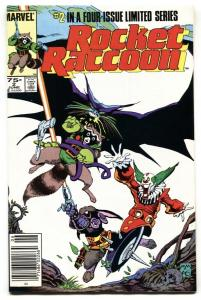 ROCKET RACCOON #2 comic book-SECOND ISSUE-Newsstand NM-