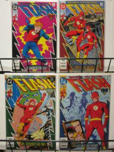 FLASH (1987) 62-65  Flash Year One : Born To Run