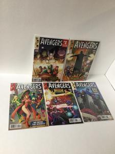 Avengers 1.1 1.2 1.3 1.4 1.5 1.1-1.5 Nm Near Mint Marvel A27