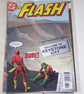 FLASH # 168 (Jan 2001, DC) KEYSTONE CITY MIRROR MASTER WALLY WEST