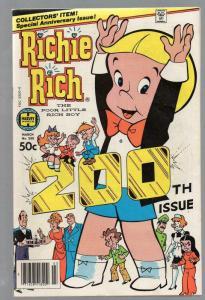 RICHIE RICH  (1960-1991) 200 VG-F Mar. 1981