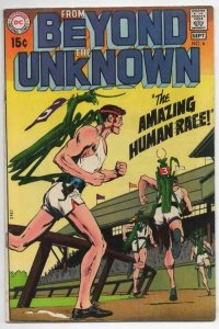 FROM BEYOND the UNKNOWN #6 FN Neal Adams Human Race 1969 1970