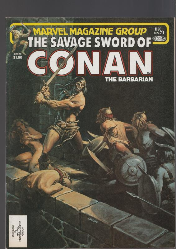 Savage Sword of Conan #71 (Marvel, 1981)