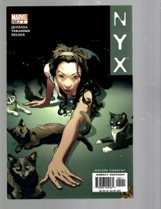 NYX # 5 NM 1st Print Marvel Comic Book X-23 Wolverine X-Men Hulk Thor TW67