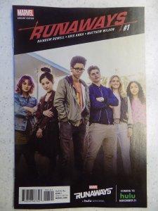 RUNAWAYS # 1 MARVEL HULU TV VARIANT RARE