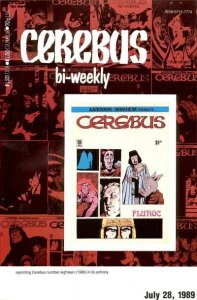 Cerebus Bi-Weekly #18, VF+ (Stock photo)