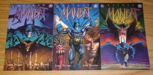 Batman: Man-Bat #1-3 VF/NM complete series - john bolton - elseworlds manbat 2